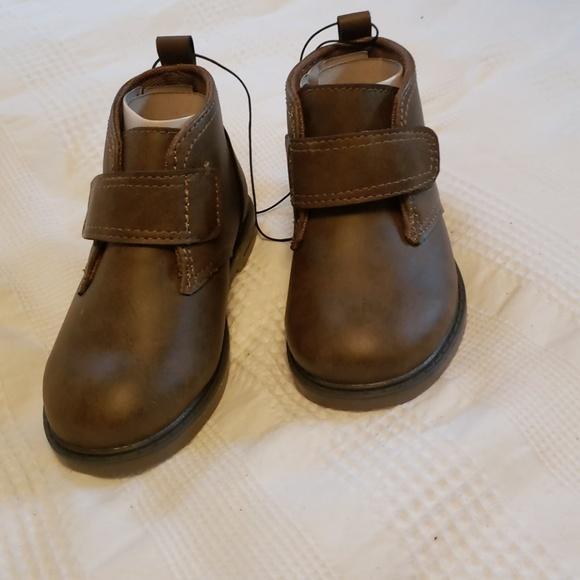 9267b87235e2 Baby Toddler Boy Brown Boots. NWT. okie dokie